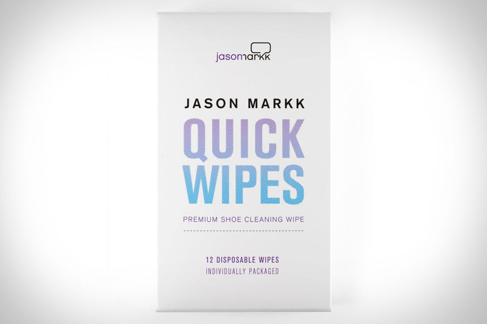 Jason Markk Quick Wipes Tutorial