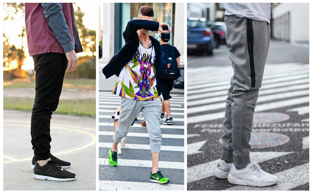 Wearing joggers with runners