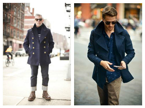 Mens Peacoats 2016
