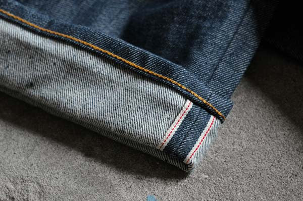 selvedge vs raw denim