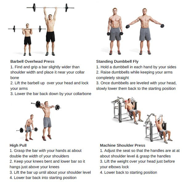 Weightlifting for beginners - shoulders