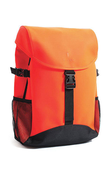 RAINS RUNNER BAG IN ORANGE  - 1