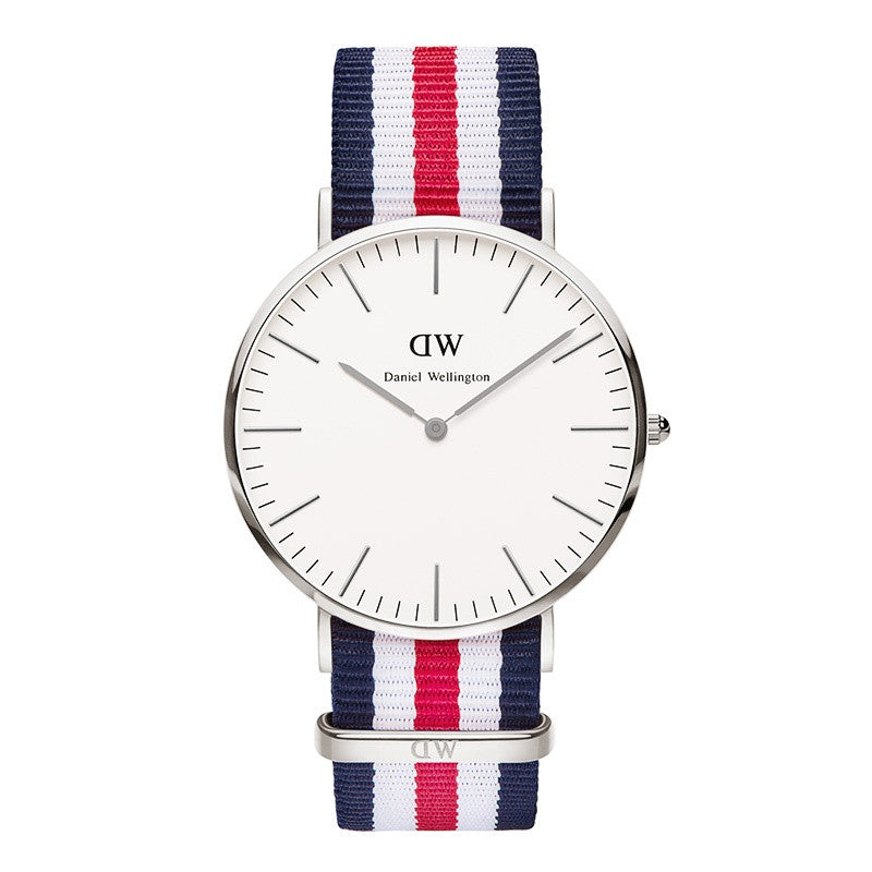 DANIEL WELLINGTON CLASSIC CANTERBURY WATCH WITH SILVER
