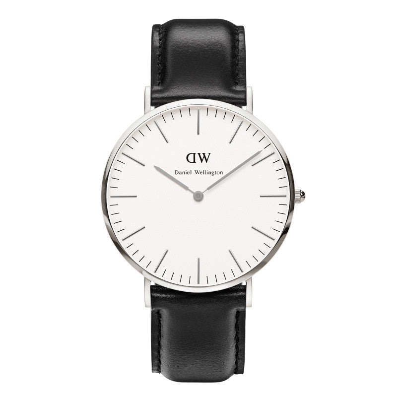 DANIEL WELLINGTON CLASSIC SHEFFIELD WATCH WITH SILVER  - 1