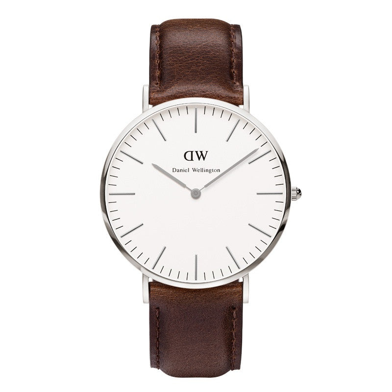 DANIEL WELLINGTON CLASSIC BRISTOL WATCH WITH SILVER  - 1