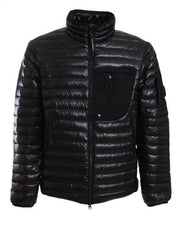 C.P. COMPANY PUFFER JACKET IN BLACK