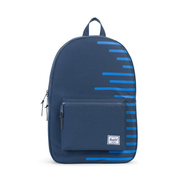 HERSCHEL SETTLEMENT BACKPACK IN NAVY AND COBALT  - 1