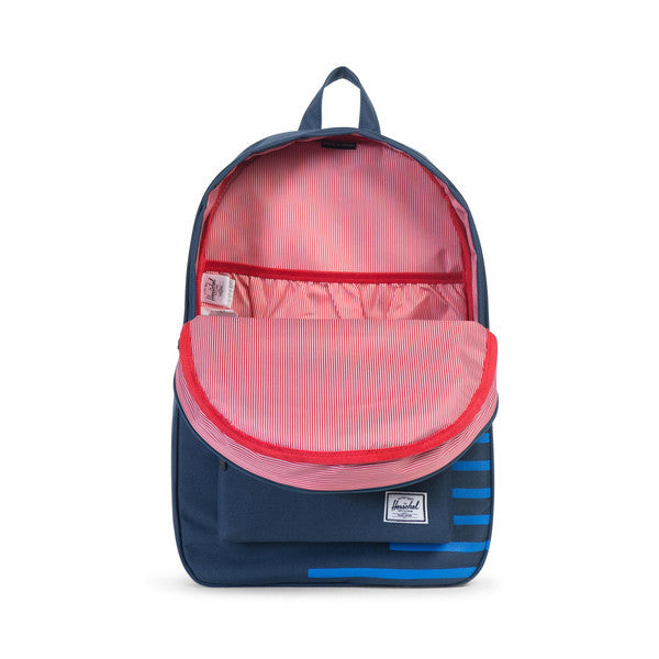 HERSCHEL SETTLEMENT BACKPACK IN NAVY AND COBALT  - 2