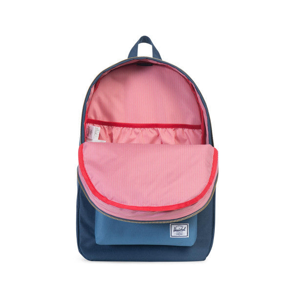 HERSCHEL SETTLEMENT BACKPACK IN NAVY AND CAPTAIN'S BLUE  - 2