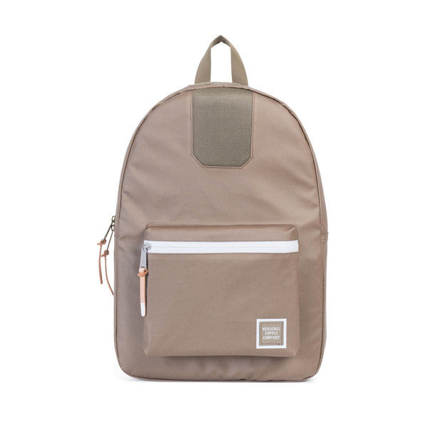 HERSCHEL SETTLEMENT BACKPACK IN LEAD GREEN POLYCOAT  - 1