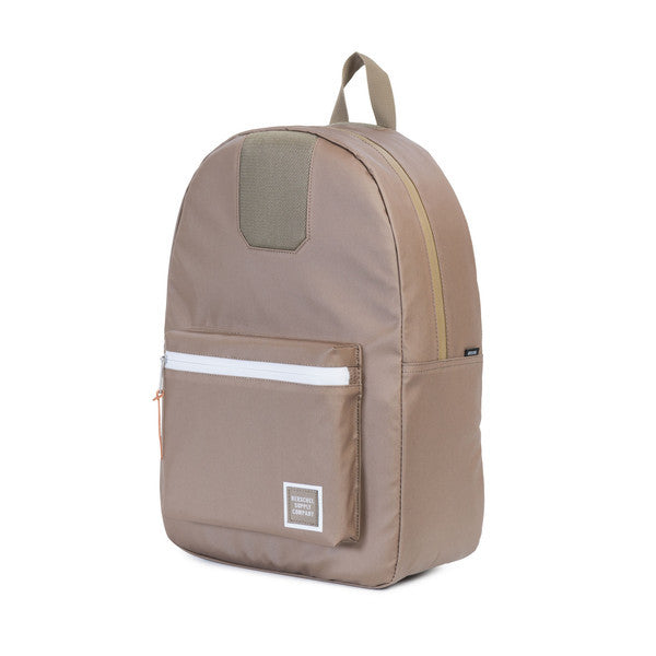HERSCHEL SETTLEMENT BACKPACK IN LEAD GREEN POLYCOAT  - 3