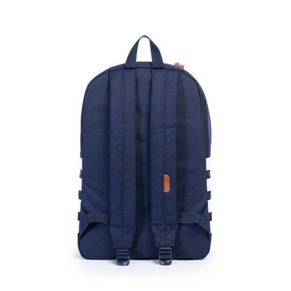 HERSCHEL HERITAGE BACKPACK IN PEACOAT OFFSET  - 4