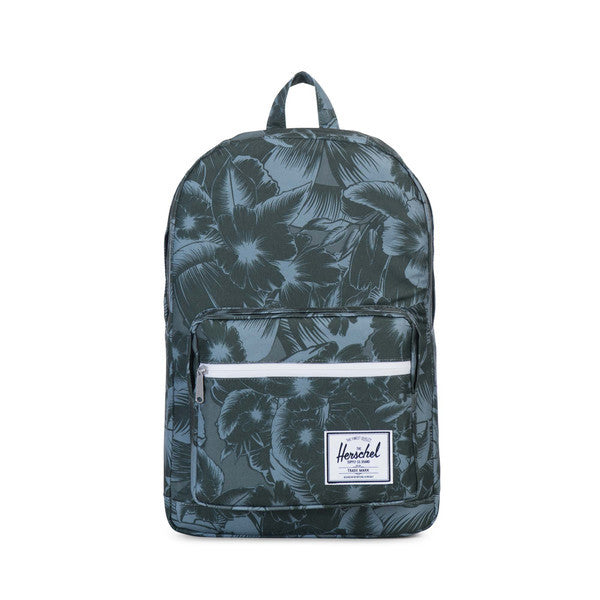 HERSCHEL POP QUIZ BACKPACK IN JUNGLE GREEN  - 1