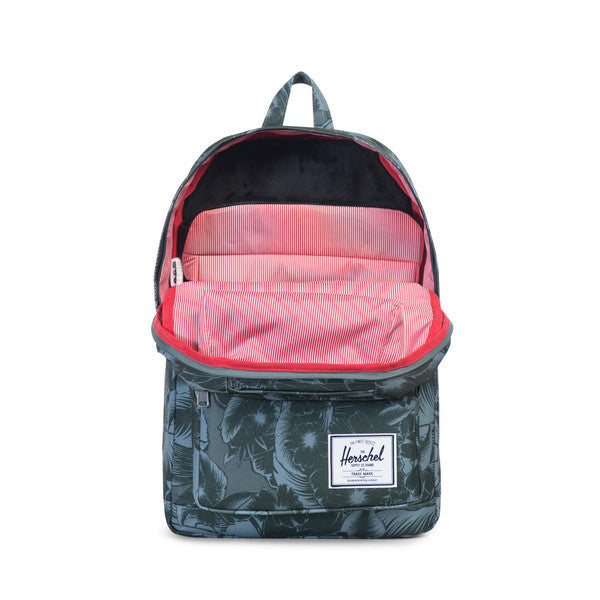 HERSCHEL POP QUIZ BACKPACK IN JUNGLE GREEN  - 2