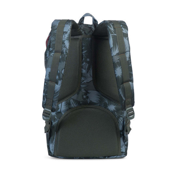 HERSCHEL LITTLE AMERICA BACKPACK IN JUNGLE FLORAL GREEN  - 4