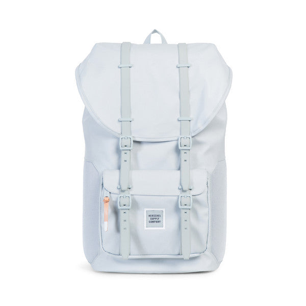 HERSCHEL LITTLE AMERICA BACKPACK IN METAL POLYCOAT  - 1