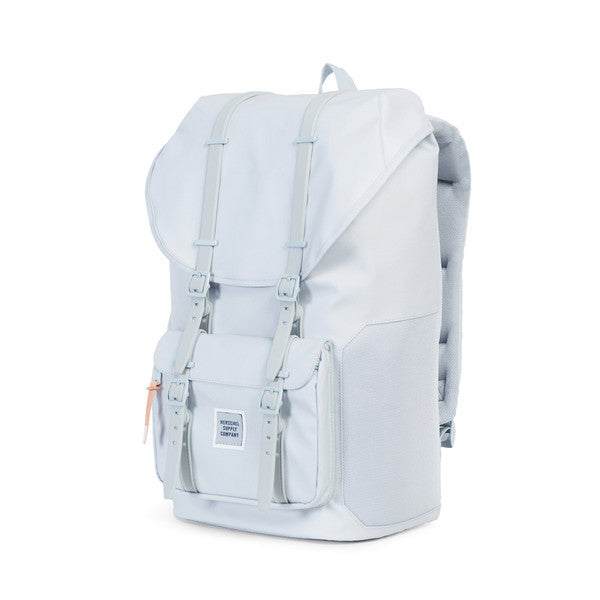 HERSCHEL LITTLE AMERICA BACKPACK IN METAL POLYCOAT  - 3