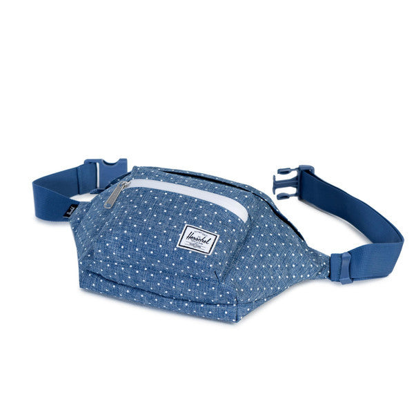 HERSCHEL SEVENTEEN HIP PACK IN LIMOGES AND WHITE DOTS  - 3