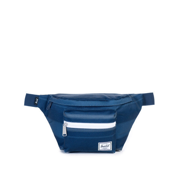 HERSCHEL SEVENTEEN HIP PACK IN NAVY FOUTA  - 1