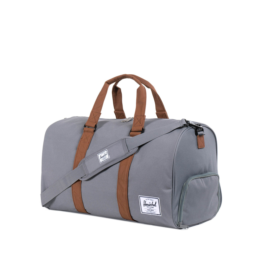 HERSCHEL NOVEL DUFFLE BAG IN GREY  - 2
