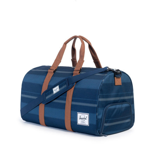 HERSCHEL NOVEL DUFFEL BAG IN NAVY FOUTA  - 2
