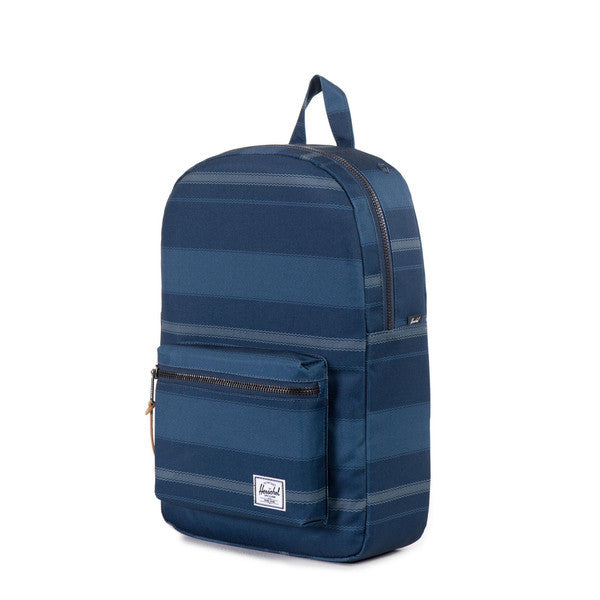 HERSCHEL SETTLEMENT BACKPACK IN NAVY FOUTA  - 3