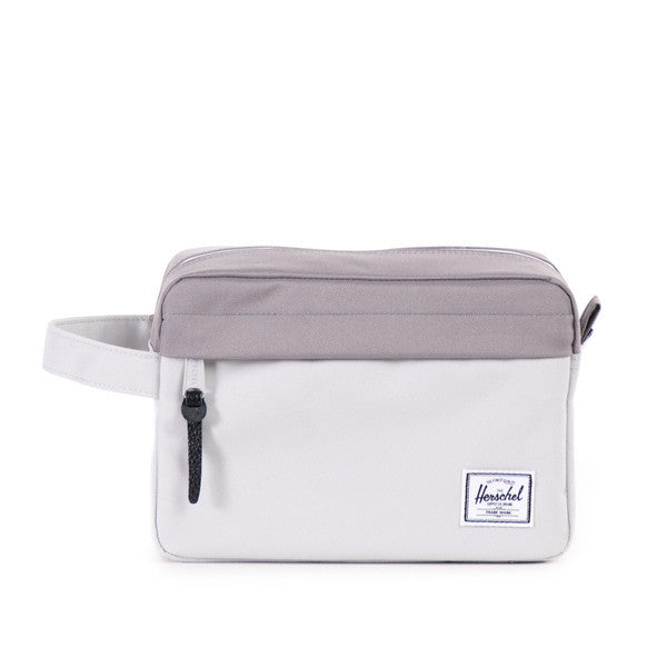 HERSCHEL CHAPTER TRAVEL KIT IN LUNAR ROCK AND GREY  - 1
