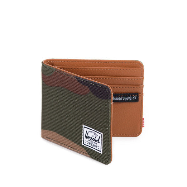 HERSCHEL HANK WALLET IN WOODLAND CAMO  - 2