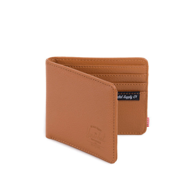 HERSCHEL HANK WALLET IN TAN PEBBLED LEATHER  - 2