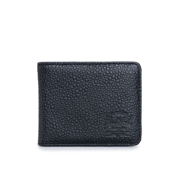 HERSCHEL HANK WALLET IN BLACK STINGRAY  - 1
