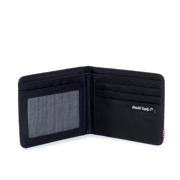 HERSCHEL HANK WALLET IN BLACK STINGRAY  - 3