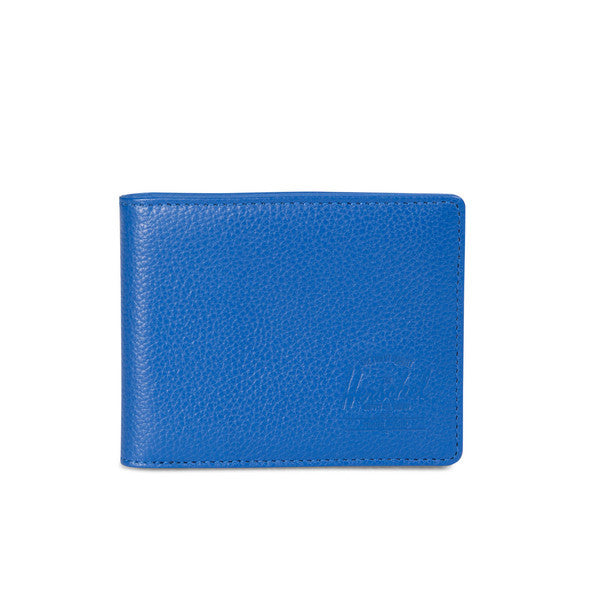 HERSCHEL HANK WALLET IN COBALT PEBBLED LEATHER  - 1