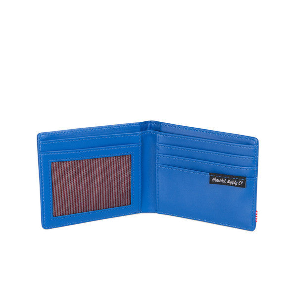 HERSCHEL HANK WALLET IN COBALT PEBBLED LEATHER  - 3
