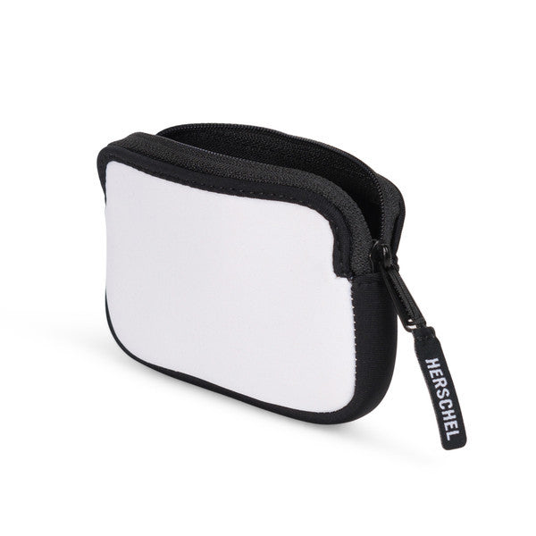 HERSCHEL OXFORD WALLET IN WHITE NEOPRENE  - 3