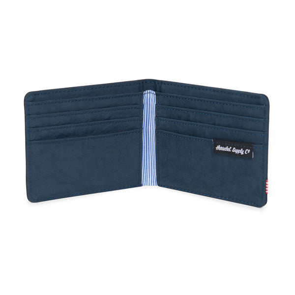 HERSCHEL ROY WALLET IN TOTAL ECLIPSE NYLON  - 3