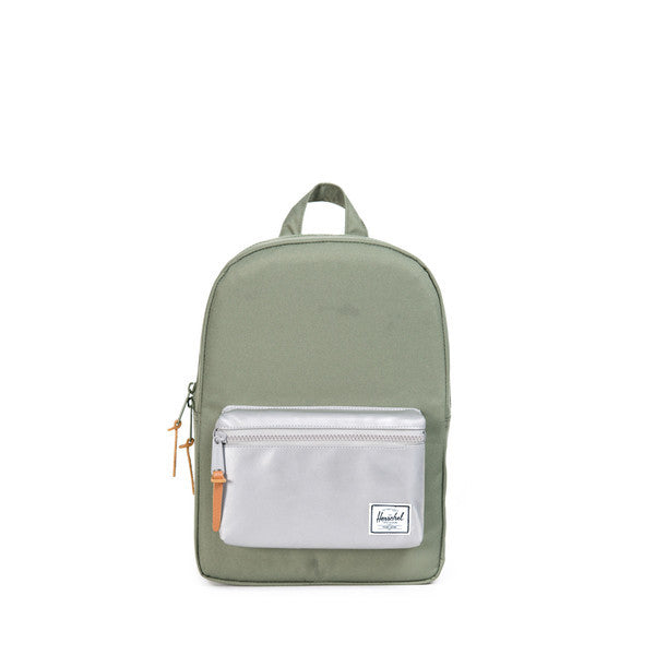 HERSCHEL SETTLEMENT KIDS BACKPACK IN DEEP LICHEN GREEN AND 3M  - 1
