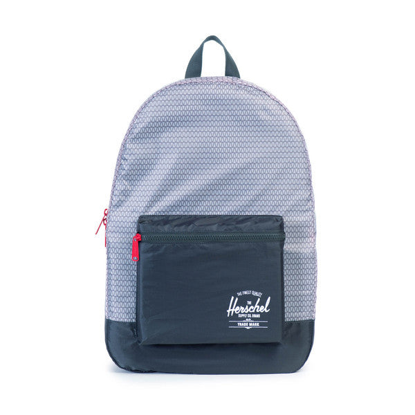 HERSCHEL PACKABLE DAYPACK IN DARK SHADOW AND PRISM PRINT  - 1