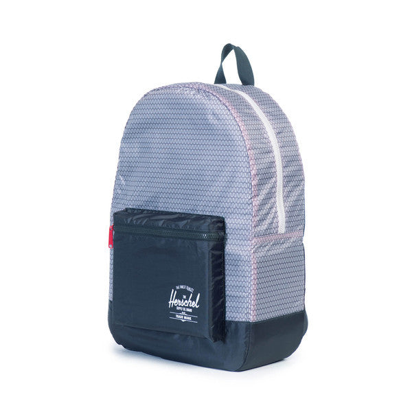 HERSCHEL PACKABLE DAYPACK IN DARK SHADOW AND PRISM PRINT  - 3