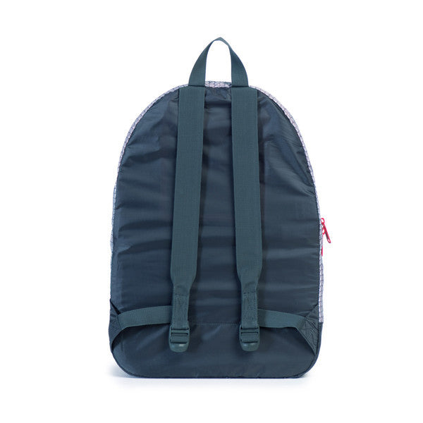 HERSCHEL PACKABLE DAYPACK IN DARK SHADOW AND PRISM PRINT  - 4