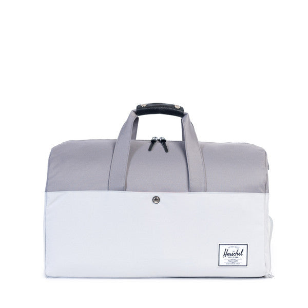 HERSCHEL LONSDALE DUFFLE BAG IN LUNAR ROCK AND GREY  - 1