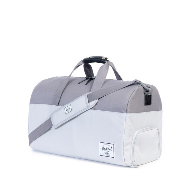 HERSCHEL LONSDALE DUFFLE BAG IN LUNAR ROCK AND GREY  - 2