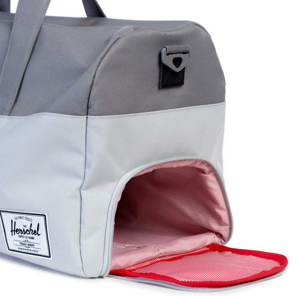 HERSCHEL LONSDALE DUFFLE BAG IN LUNAR ROCK AND GREY  - 3
