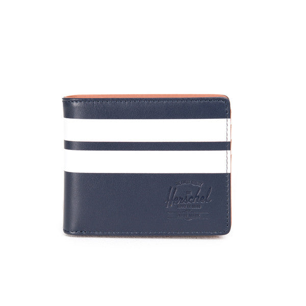 HERSCHEL HANK WALLET IN PEACOAT OFFSET SMOOTH LEATHER  - 1