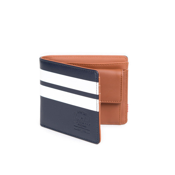 HERSCHEL HANK WALLET IN PEACOAT OFFSET SMOOTH LEATHER  - 2