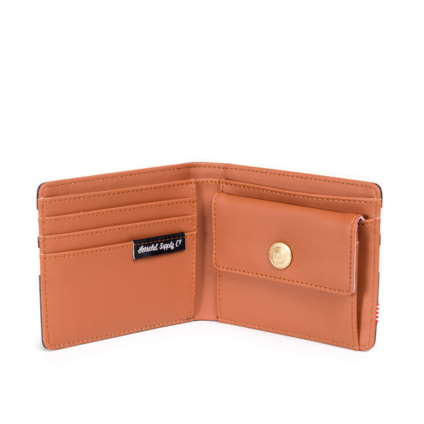 HERSCHEL HANK WALLET IN PEACOAT OFFSET SMOOTH LEATHER  - 3