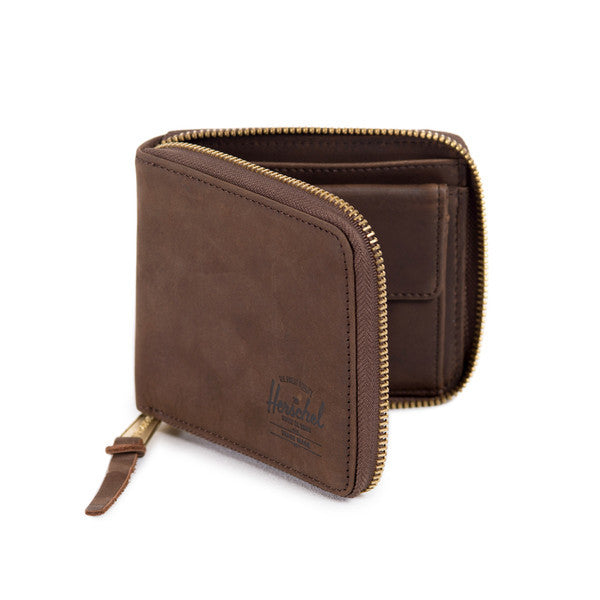 HERSCHEL WALT WALLET IN NUBUCK LEATHER  - 2