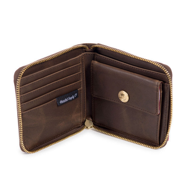 HERSCHEL WALT WALLET IN NUBUCK LEATHER  - 3