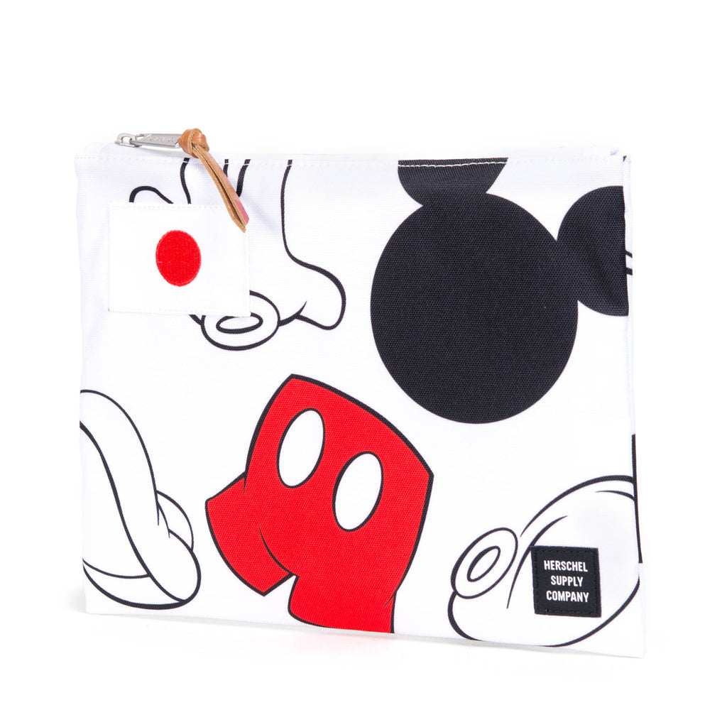HERSCHEL X DISNEY COLLECTION NETWORK LARGE POUCH FEAT. MICKEY MOUSE (JAPAN EDITION)  - 2
