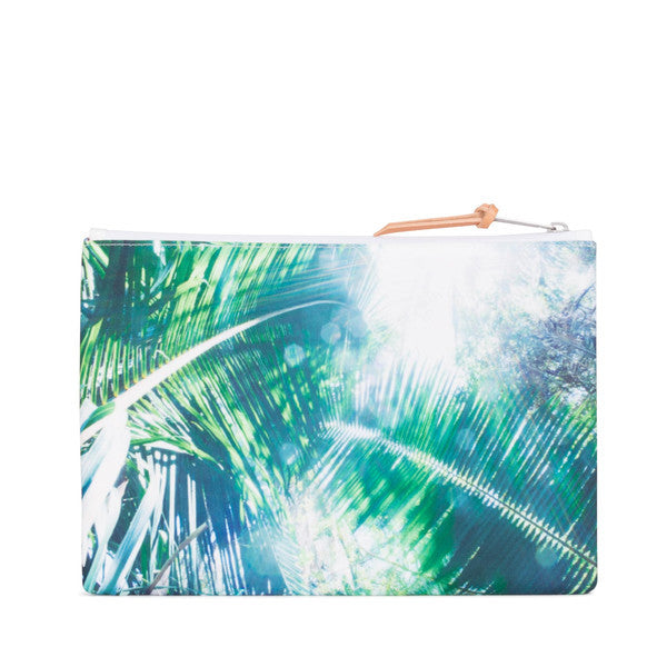 HERSCHEL NETWORK LARGE POUCH IN WAVE/SKY  - 2