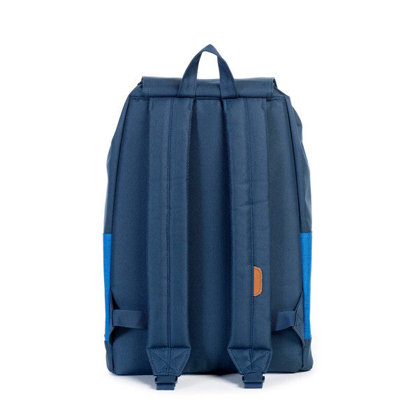 HERSCHEL REID BACKPACK IN NAVY AND COBALT CROSSHATCH  - 4